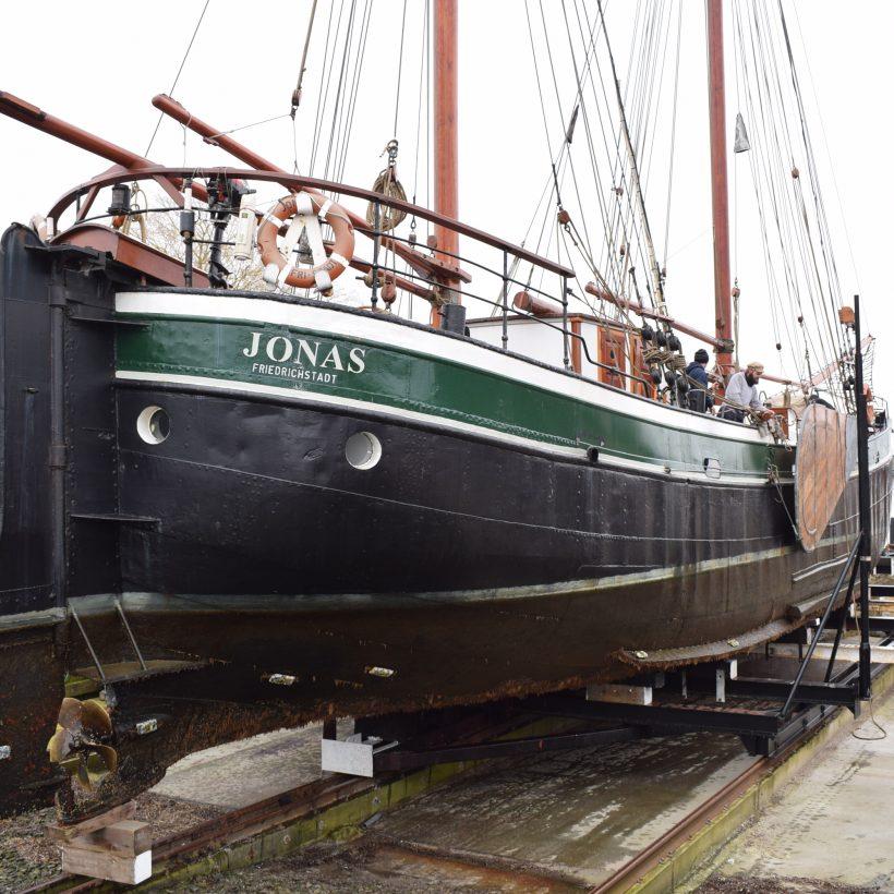Ewert Jonas, maritim tumleplads, ærø, det gamle værft, bedding,