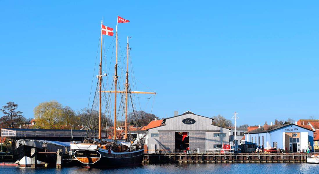 ss svendborgsund, det gamle værft, shipyard, ærø