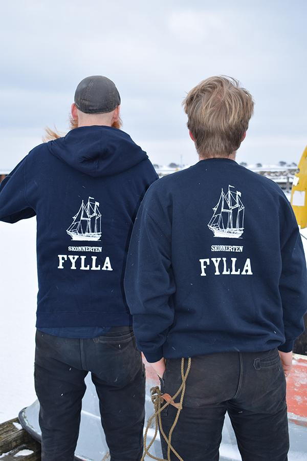 Fylla, t-shirts, skipper, skonnerten fylla, skib