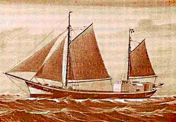 Vito, skibet vito, ærø, det gamle værft,