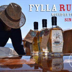 Fylla Rum, sailed to the door, det gamle værft, ærø , ts, træskibe, sejlskibe, sejlture, rom, rum, fylla rom, real rum, cargolabel, rum