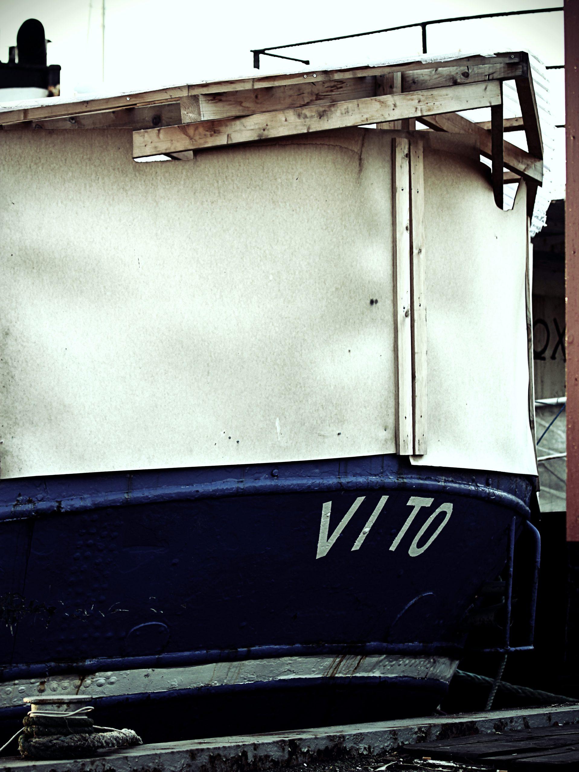 det gamle værft, skib, vito